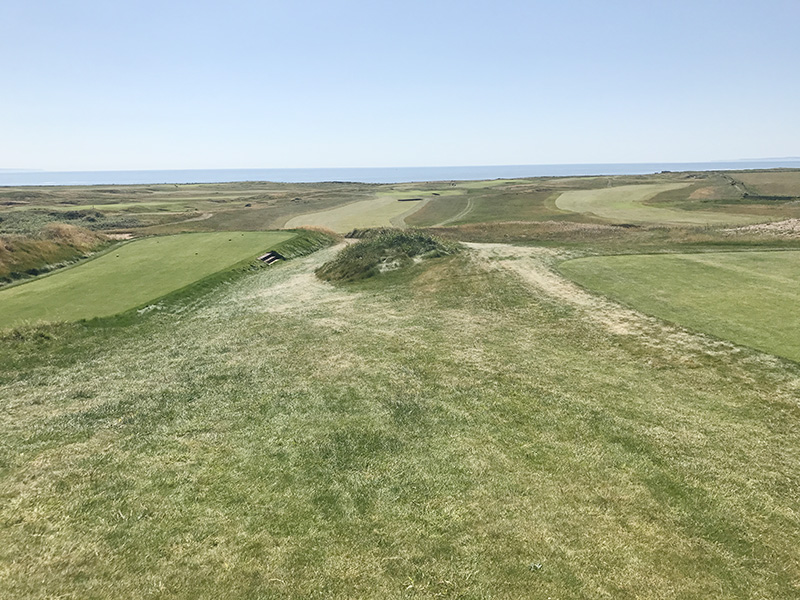 Royal Porthcawl Through the eyes of a golfer a designer and