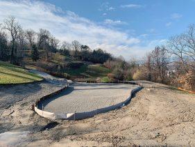New Par 3 course at the Evian Resort Golf Academy - Hole 4 Green