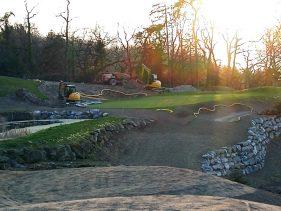 New Par 3 course at the Evian Resort Golf Academy - Hole 3